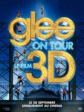 Affiche Glee on tour