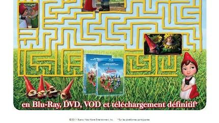 Gnoméo et Juliette : le labyrinthe