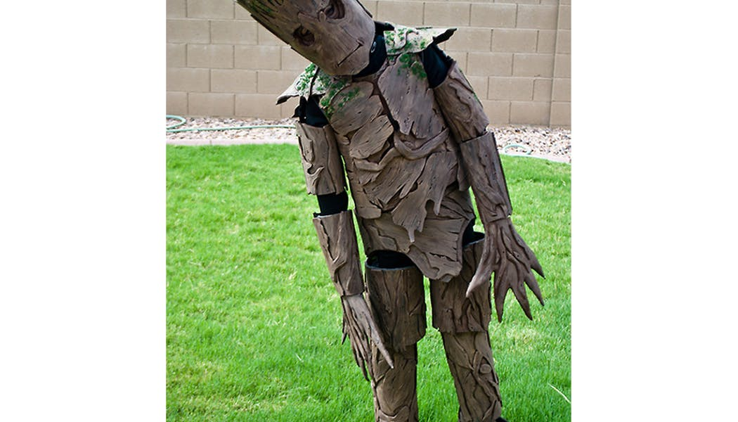 Groot des Gardiens de la Galaxie déguisements costume         Halloween enfants
