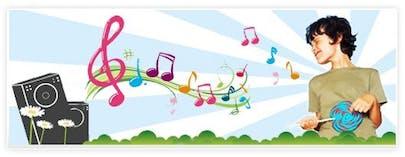 Affiche Guide des festivals de musique pour       enfants