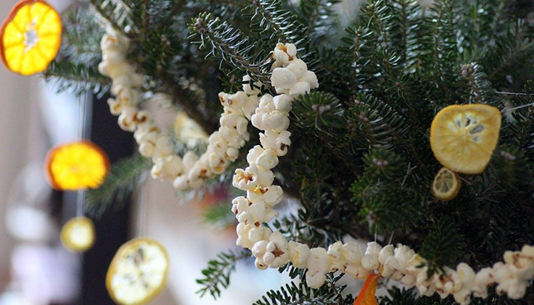 idées décorations Noël rapides simples faciles         dernière minute
