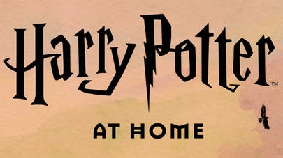 Harry Potter at Home site confinement J.K.Rowling