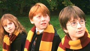 Harry Potter : des images inédites du premier jour de tournage d'Harry Potter à l'école des Sorciers