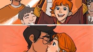 Harry Potter : elle dessine des scènes oubliées avec l'accord de J.K. Rowling