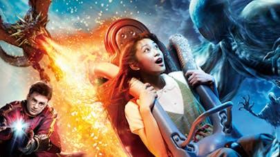 Harry Potter le voyage interdit nouvelle attraction       universal studios Japon