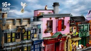 """Harry Potter x Lego : un génial set complet """"Chemin de Traverse"""" dévoilé !"""