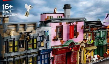 Harry Potter x Lego : un génial set complet