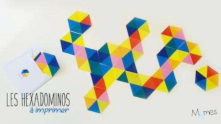 Hexadominos : les dominos à 6 côtés