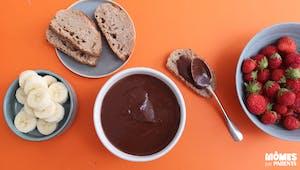 Houmous au chocolat (à tartiner!)
