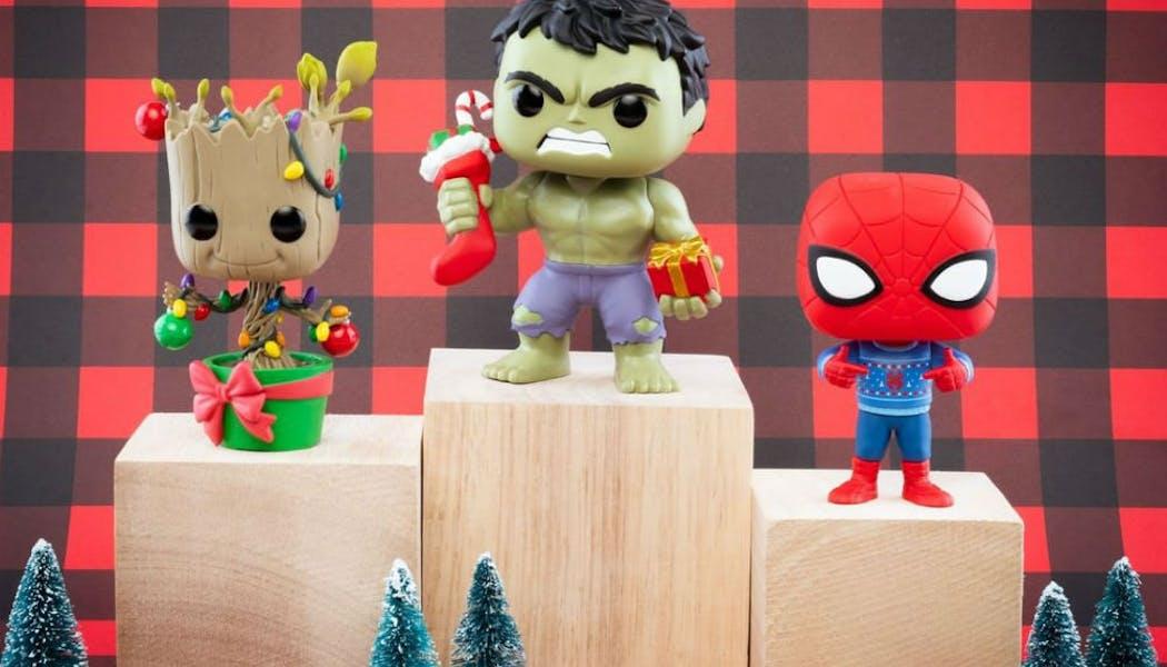 Hulk, Spiderman et Groot