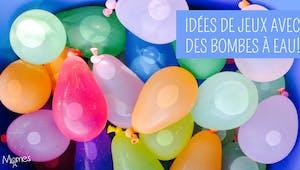 Idées de jeux avec des bombes à eau !