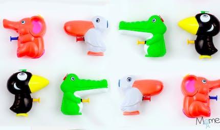 Idées de jeux avec des pistolets à eau !