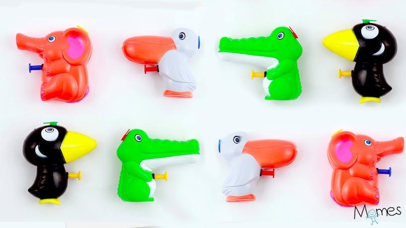 idée de jeux avec des pistolet à eau