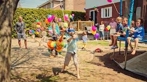 Idées de jeux en extérieur pour un anniversaire enfant