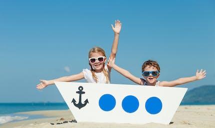 Idées de jeux et activités de plage pour les enfants