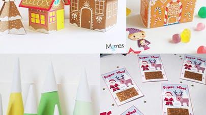idées déco table Noël Momes