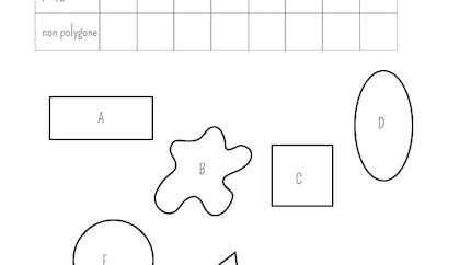 Identifier les polygones: exercice