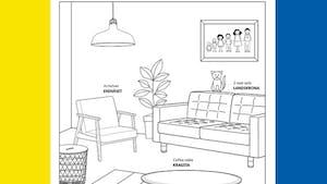 Ikea crée un catalogue pour occuper les enfants confinés
