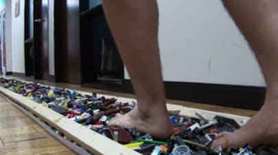record marche sur Lego