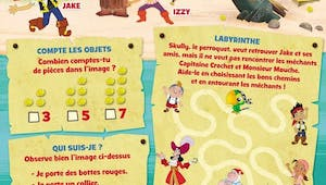 Jake et les pirates : labyrinthe