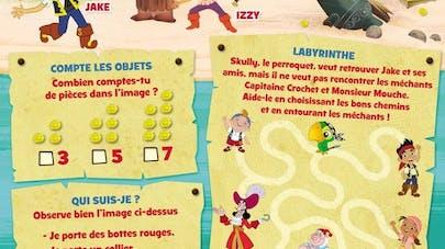 Jake et les pirates : labyrinthe