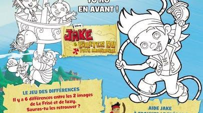 Jake et les pirates : le jeu des différences
