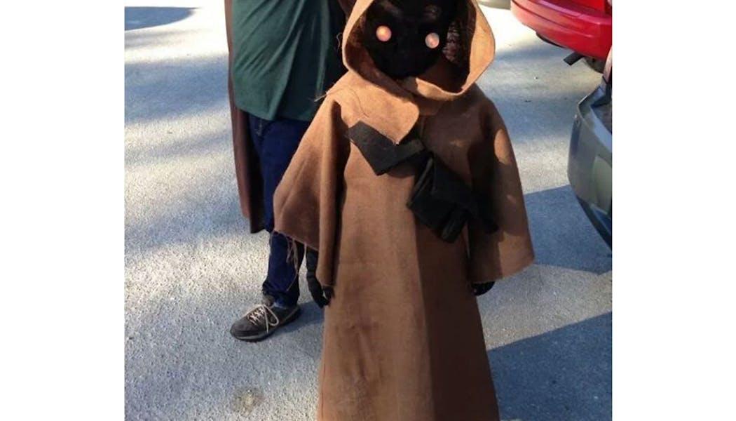 Jawa Star Wars déguisements costume Halloween         enfants