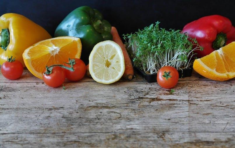 Je découvre les fruits et les légumes