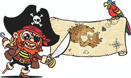 Je découvre : les pirates
