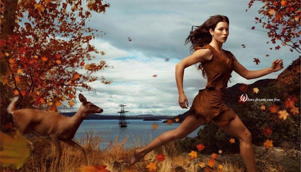 Jessica Biel (Pocahontas)