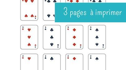 jeu de cartes à imprimer