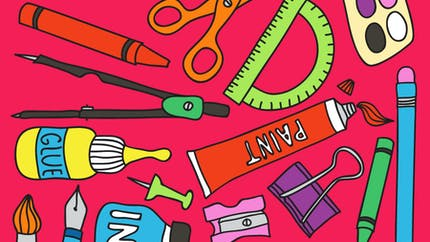Jeu de kim - autour des outils de la classe