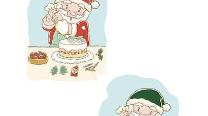 Jeu des 7 différences : le Père Noël