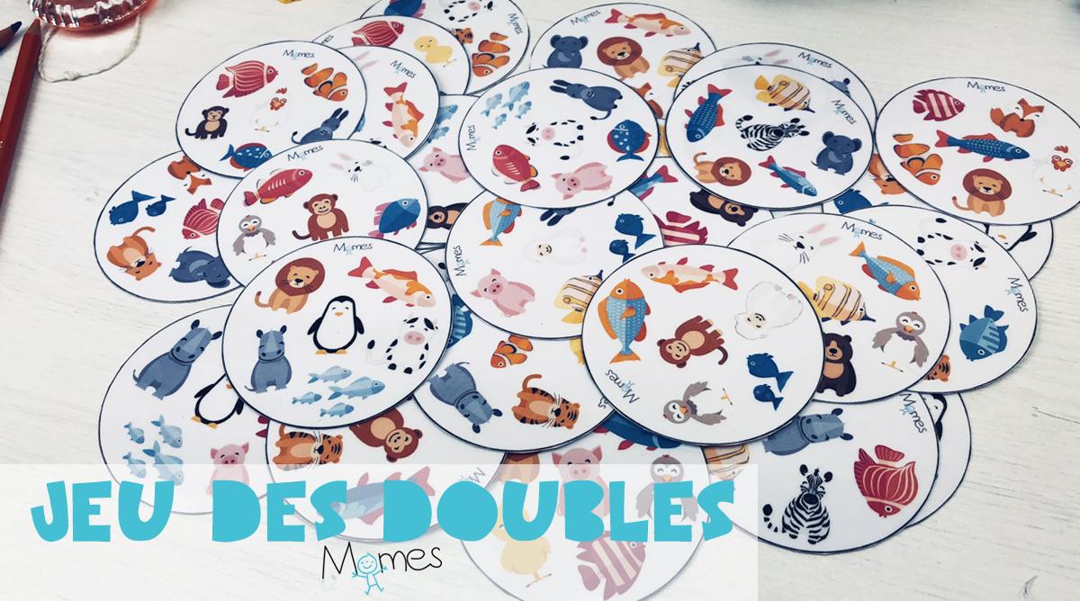 Jeu Des Doubles A Imprimer Momes Net