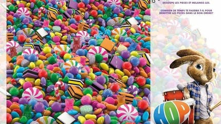 Jeu Hop: puzzle de bonbons