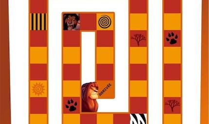 Jeu Le Roi Lion: à travers la jungle (1/2)