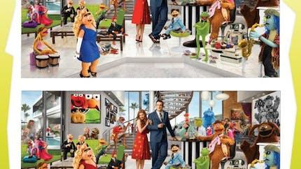 Jeu Les Muppets: les 21 différences