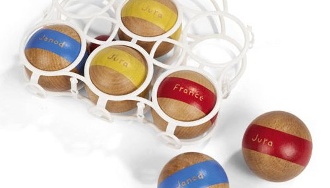 Jeux de boules en bois
