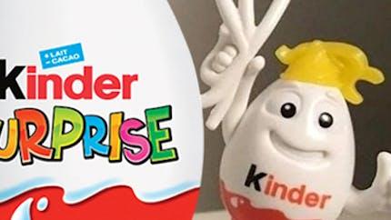 Kinder surprise accusé de racisme à cause d'un jouet