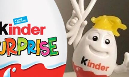 Kinder surprise accusé de racisme à cause d'un jouet
