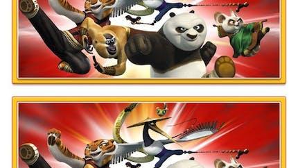 Kung-Fu Panda : jeu des différences
