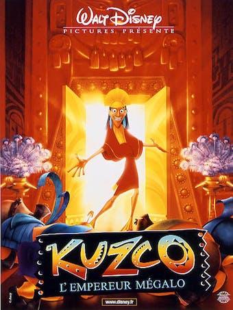 Affiche Kuzco l'empereur mégalo