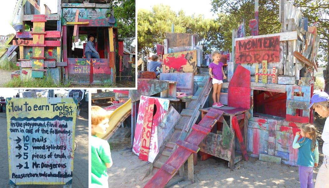 L'Adventure Playground de Berkeley
