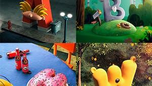 L'alphabet des dessins animés