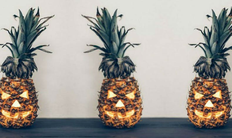 L'ananas version citrouille
