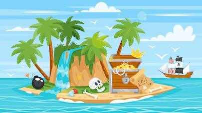 Illustration pirate
