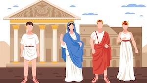 L'empire romain : son armée, ses artistes et ses dieux