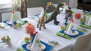 L'essentiel pour réussir un anniversaire Dinosaures