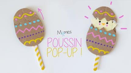 L'œuf de Pâques pop-up !
