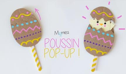 L'oeuf de Pâques pop-up !